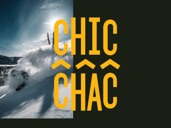 Chic-Chac in the Chic-Choc Mountains unveils their new brand identity and new website