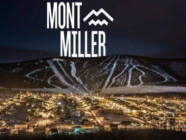 Les lumières déferlent sur le Mont Miller, photo Benoit Bisson