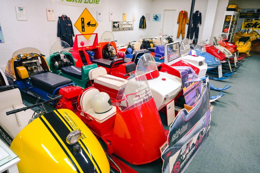 Le musée de la motoneige de Murdochville